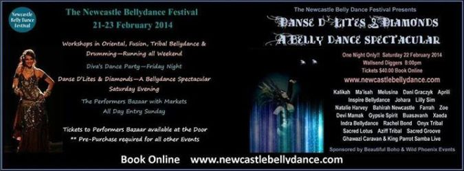 Kalikah Jade at Newcastle Bellydance Festival 2014
